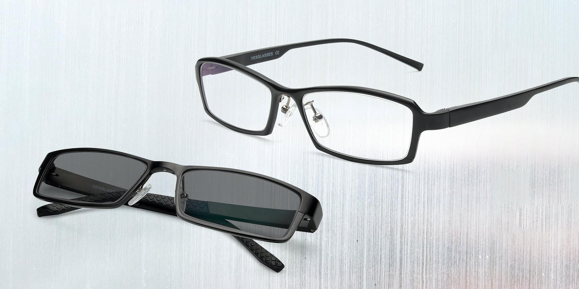 Magnesium Alloy Glasses Collection