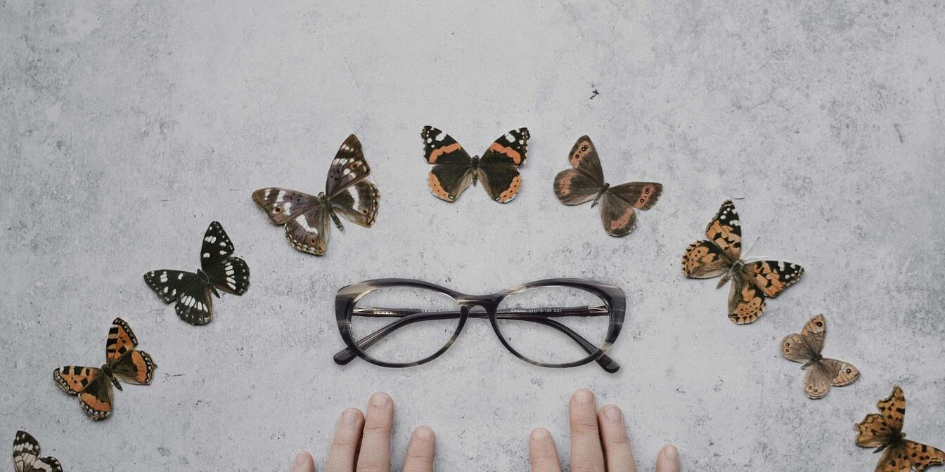 Stylish Butterfly Glasses Collection