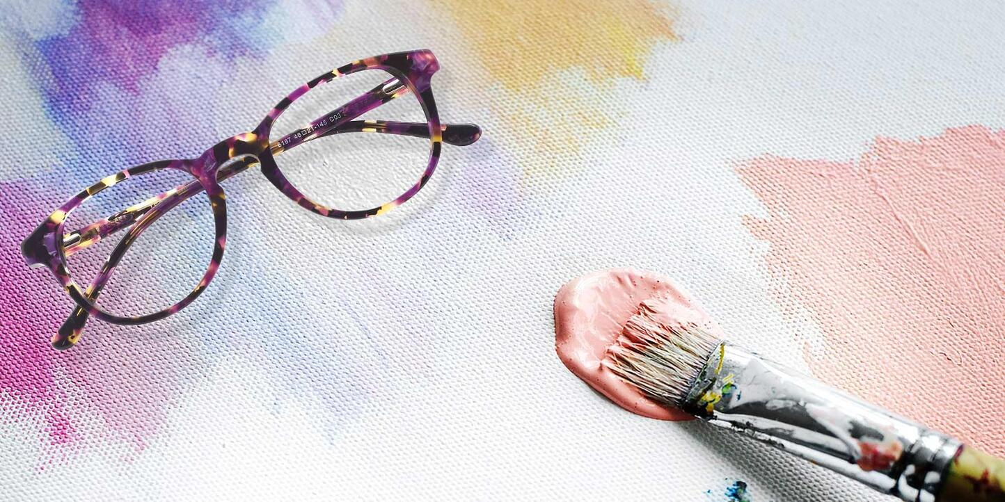 Colorful Glasses Collection