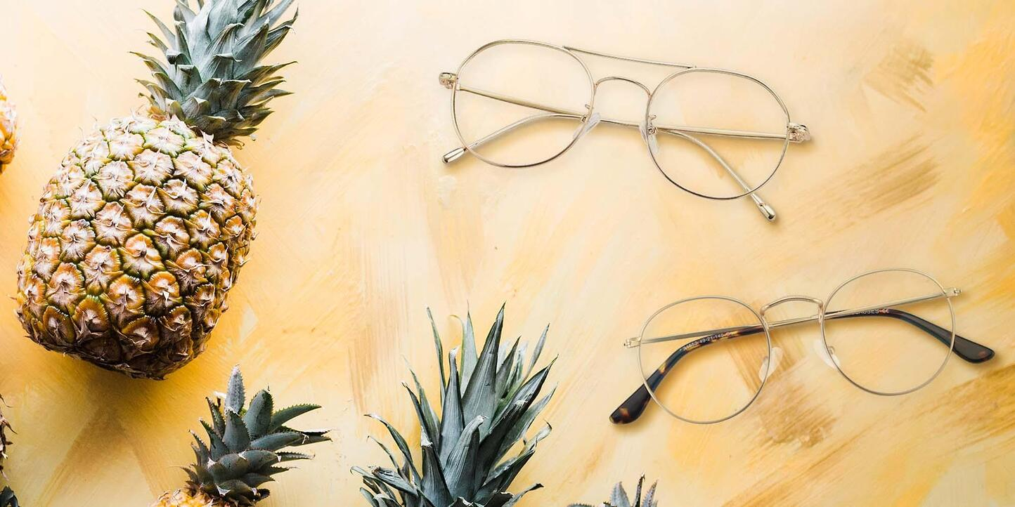Gold Glasses Collection