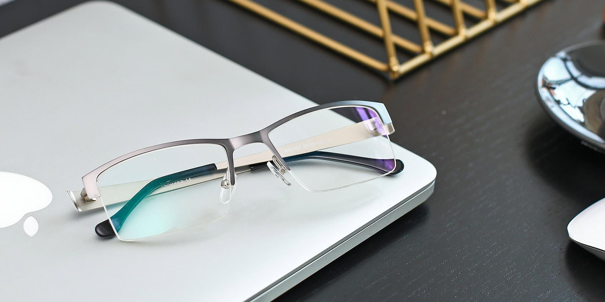 Gray/Silver/Gun Glasses Collection