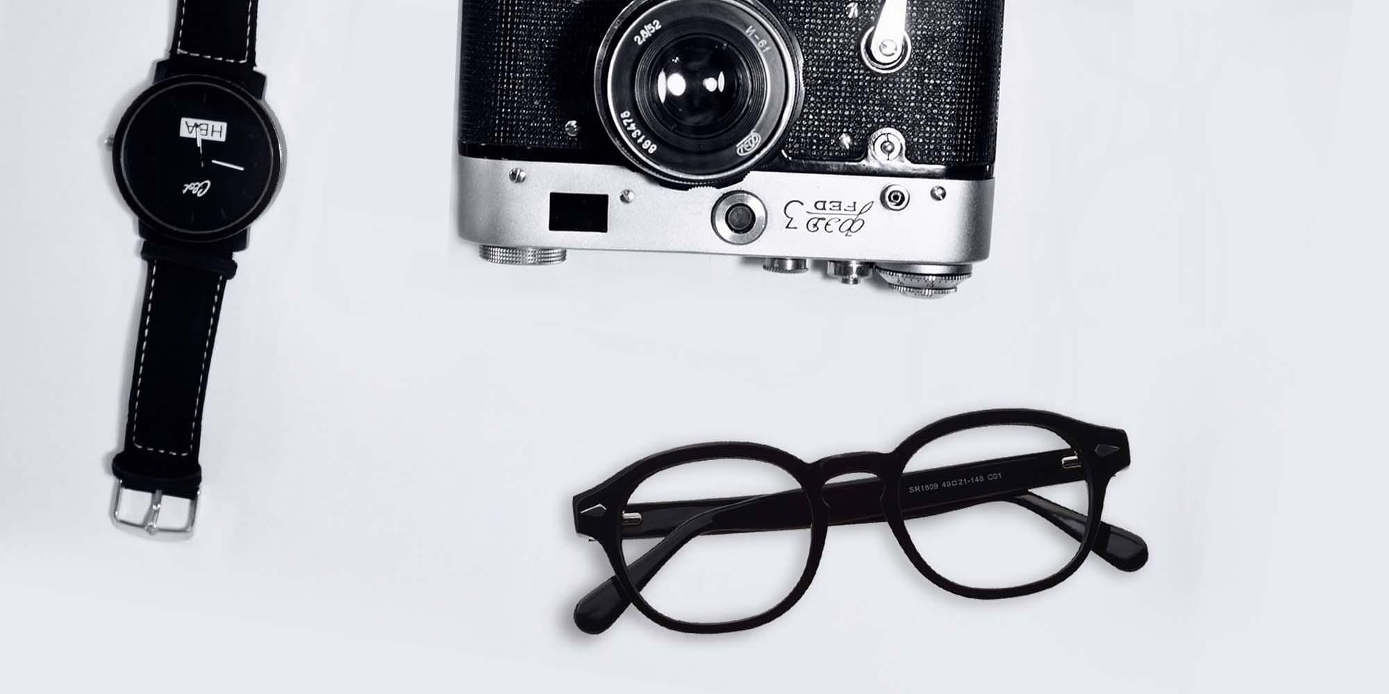 Horn-Rimmed Glasses Collection