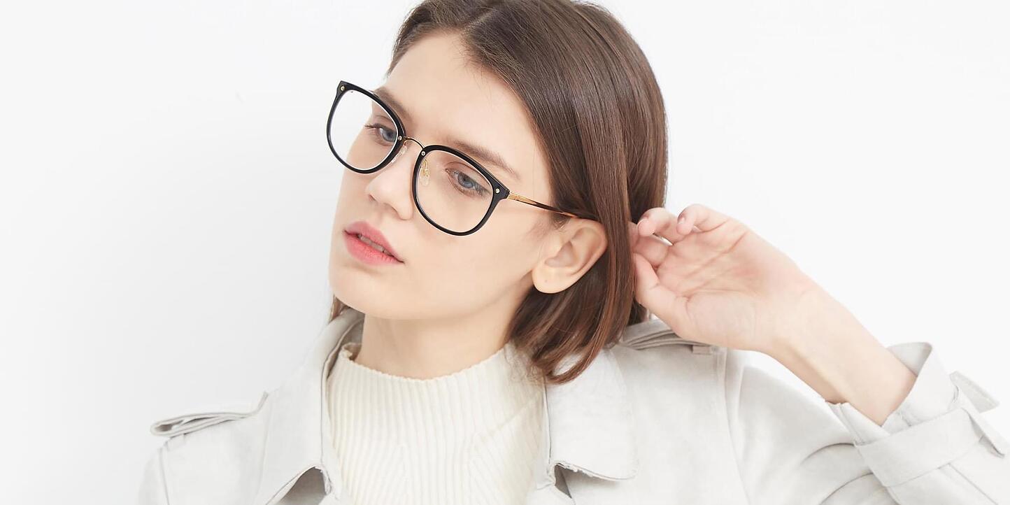 Metal Bridge Plastic Glasses Collection