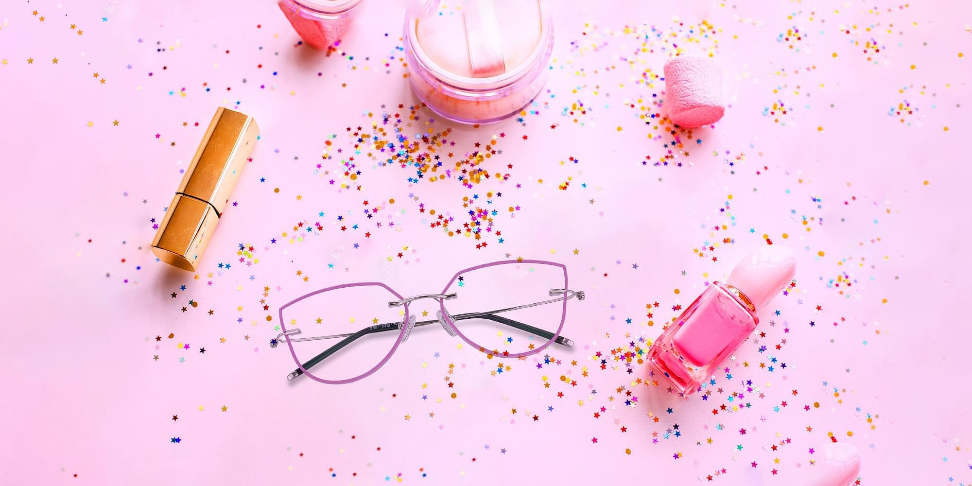 Pink Glasses Collection