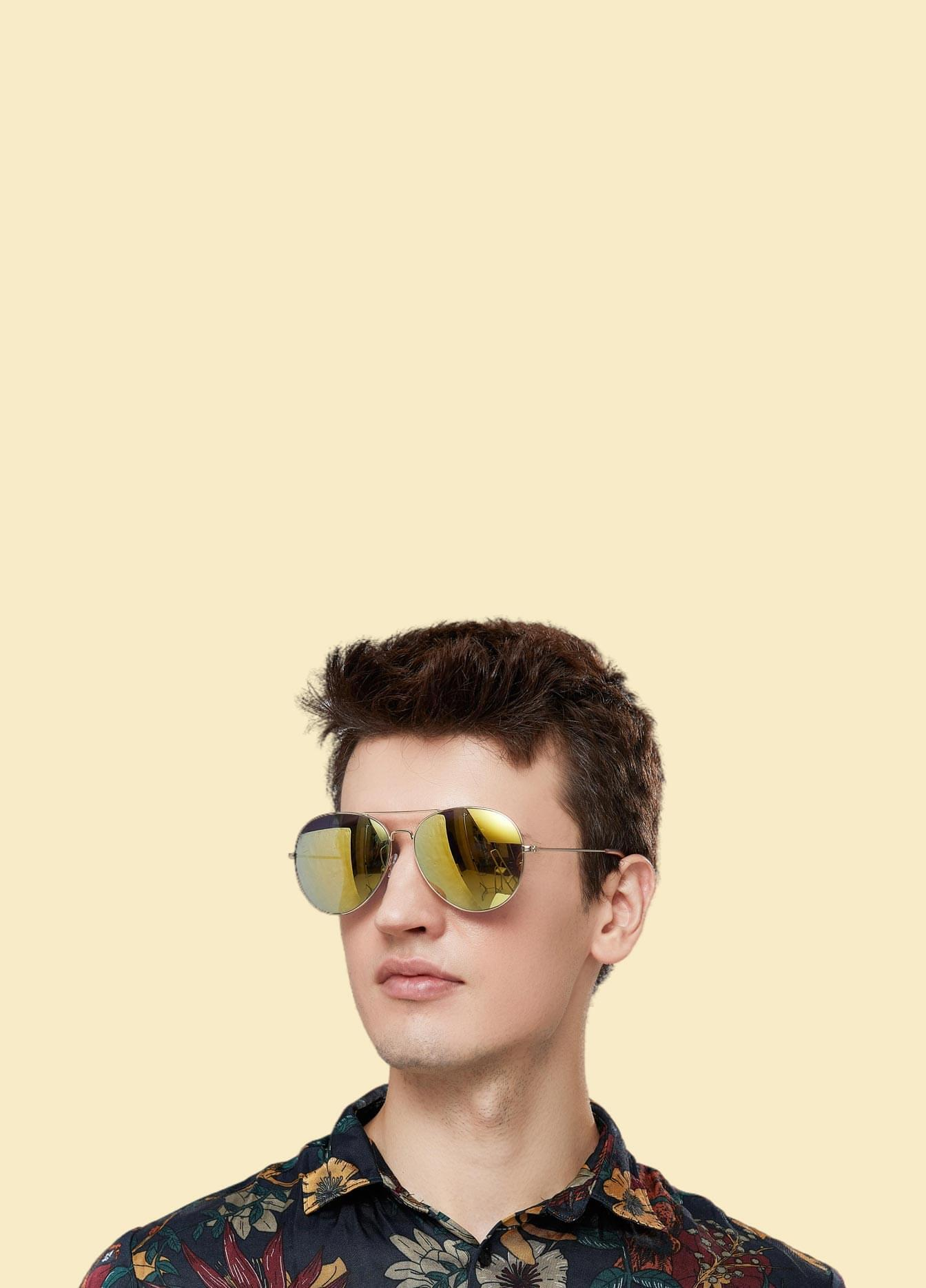 Flash Mirrored Sunglasses