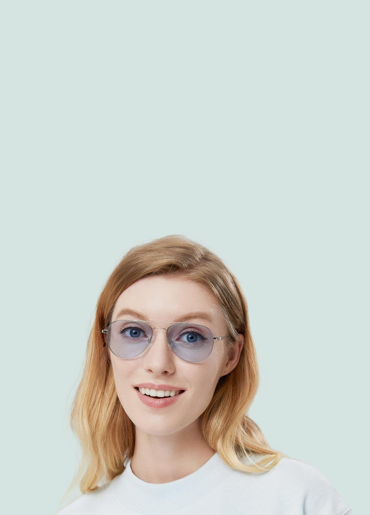 Color tinted sunglasses come in a wide variety, from amber and bronze to blue and pink. Choose tinted glasses to fit your prescription.