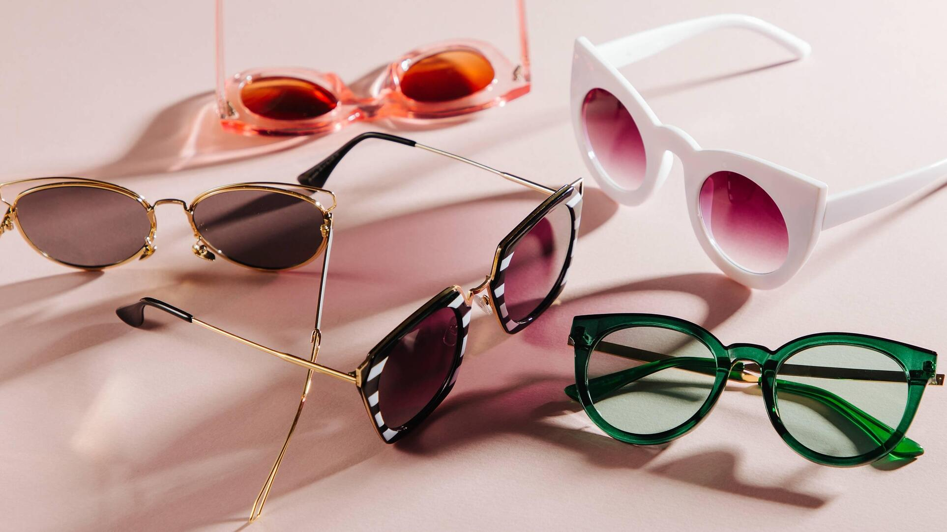 Consider light lens tints for wearing colorful eyewear indoors.