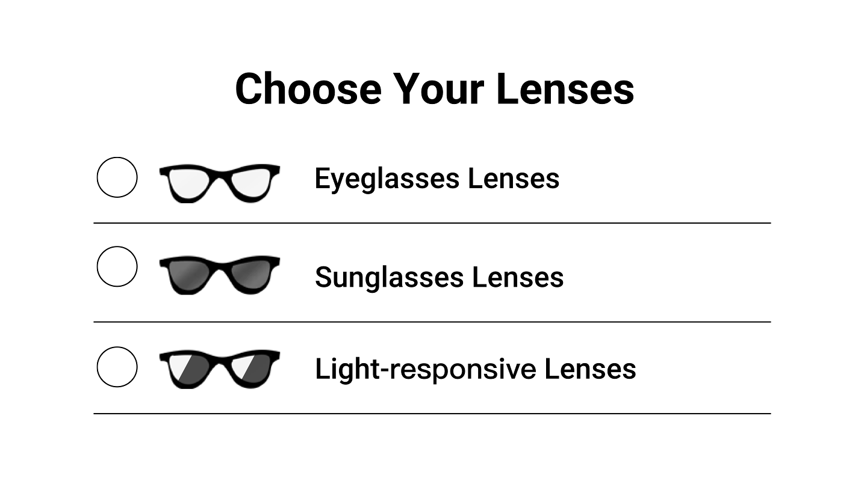"""Click the """"Select Lenses"""" button."""