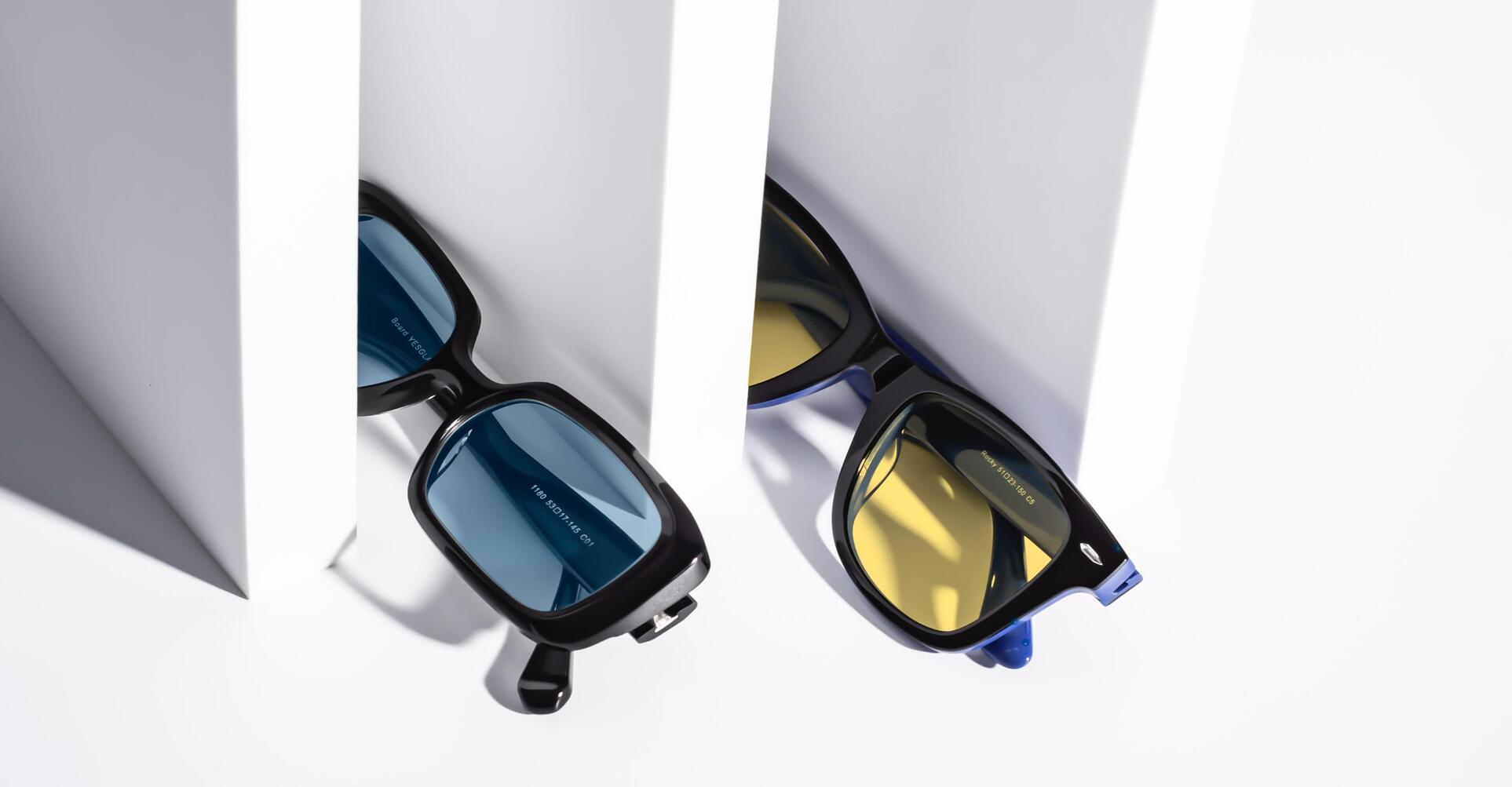 Bright and bold sunglasses for 2021.
