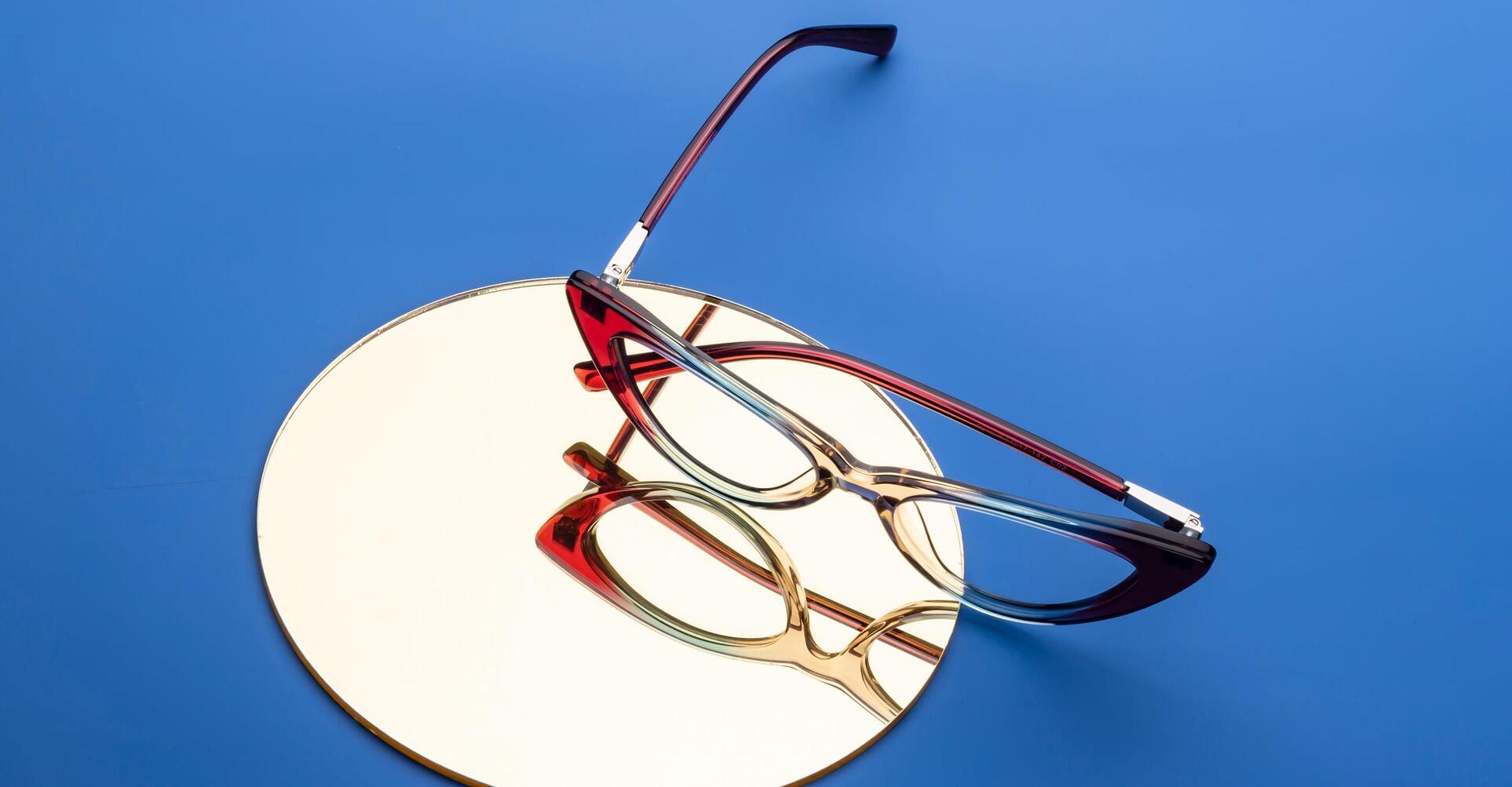 Cat eye frames for 2021.