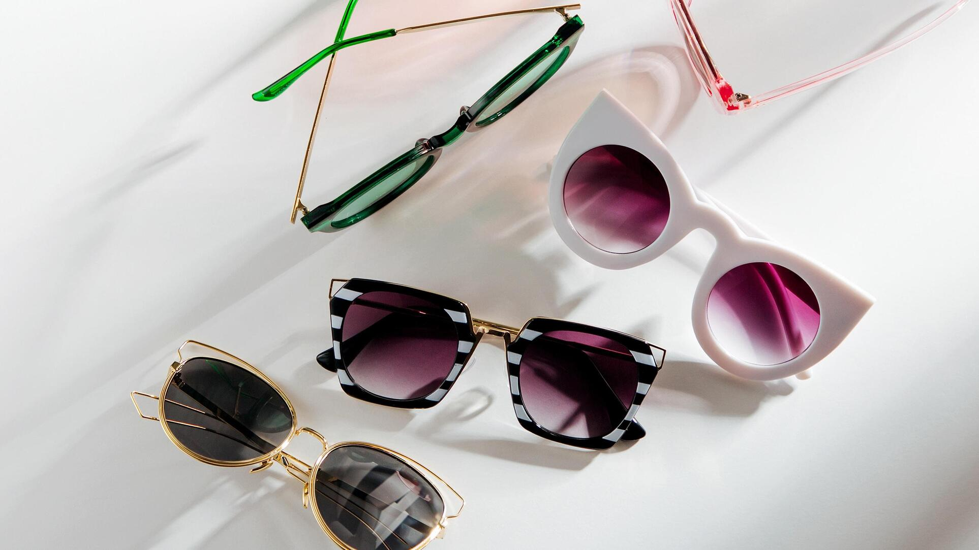 Many funky glasses styles have cool shapes, thick frames and unique features.