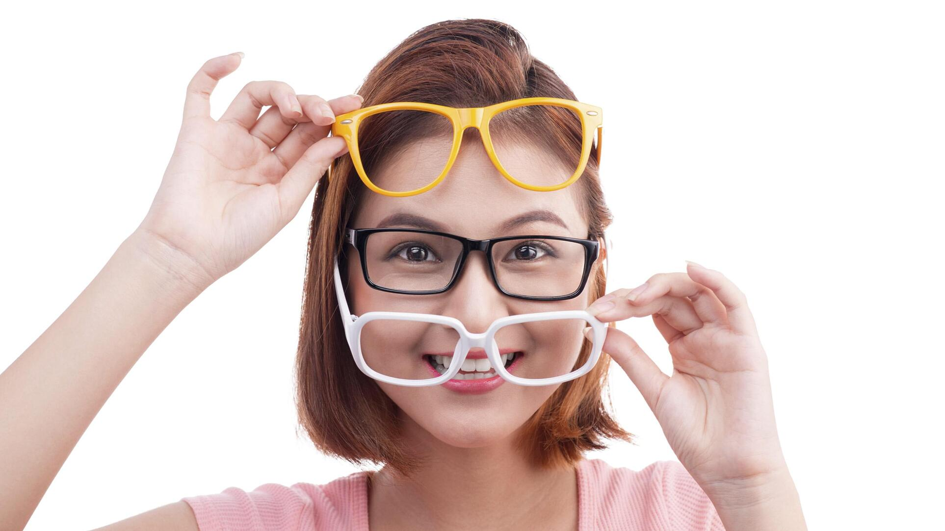 How should glasses sit on my nose?