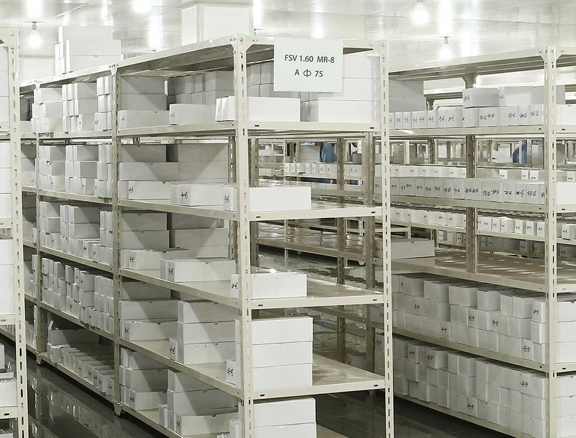 Temperature & Humidity monitoring Inventory Storage