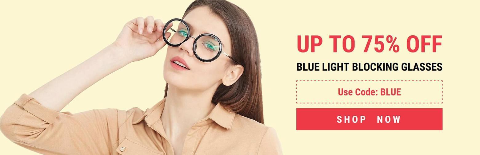 70% Off Anti-Blue Light Lenses - Limited Time Offer